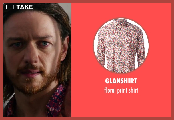 GLANSHIRT shirt from X-Men: Days of Future Past seen with James McAvoy (Charles Xavier)