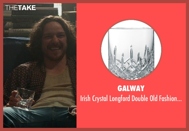 Galway whiskey from X-Men: Days of Future Past seen with James McAvoy (Charles Xavier)
