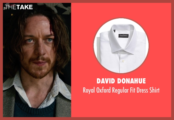 David Donahue white shirt from X-Men: Days of Future Past seen with James McAvoy (Charles Xavier)