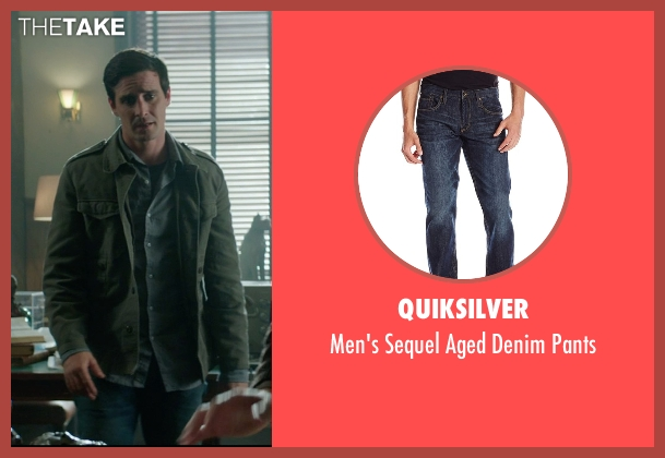 Quiksilver blue pants from Sinister 2 seen with James Ransone (So & So)