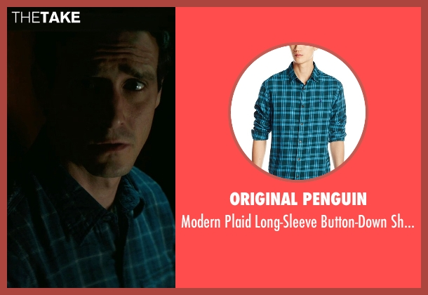 Original Penguin blue shirt from Sinister 2 seen with James Ransone (So & So)