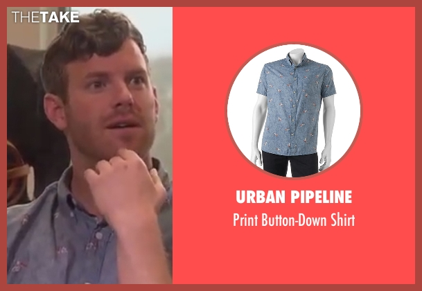 Urban Pipeline blue shirt from The Bachelorette seen with James Taylor
