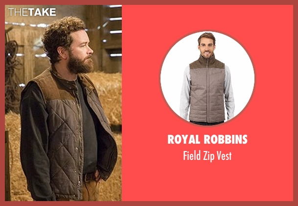 Royal Robbins brown vest from The Ranch seen with Jameson 'Rooster' Bennett (Danny Masterson)