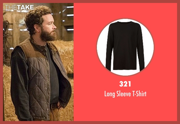 321 gray t-shirt from The Ranch seen with Jameson 'Rooster' Bennett (Danny Masterson)