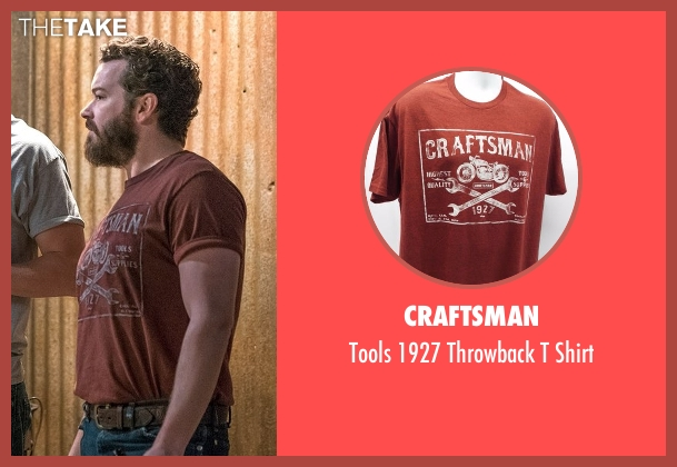 Craftsman red shirt from The Ranch seen with Jameson 'Rooster' Bennett (Danny Masterson)