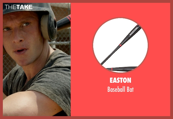 Easton bat from Fantastic Four seen with Jamie Bell (Ben Grimm / The Thing)
