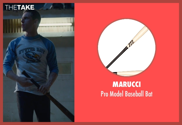 Marucci bat from Fantastic Four seen with Jamie Bell (Ben Grimm / The Thing)