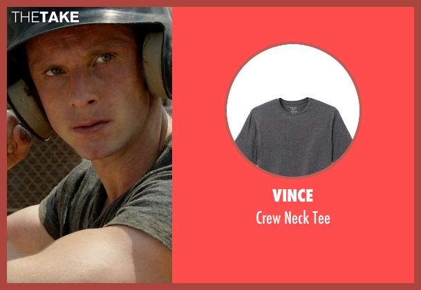 Vince gray tee from Fantastic Four seen with Jamie Bell (Ben Grimm / The Thing)