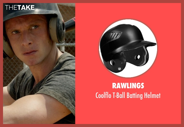 Rawlings helmet from Fantastic Four seen with Jamie Bell (Ben Grimm / The Thing)