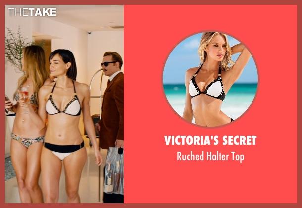 Victoria's Secret white top from Mortdecai seen with Jamie Bernadette (Bikini Babe)