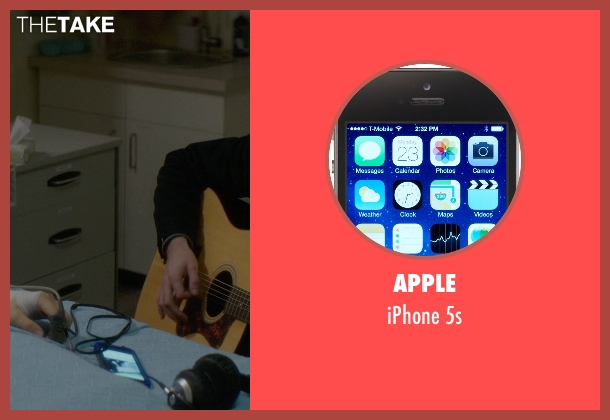 Apple 5s from If I Stay seen with Jamie Blackley (Adam)