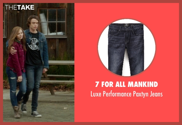 7 For All Mankind black jeans from If I Stay seen with Jamie Blackley (Adam)
