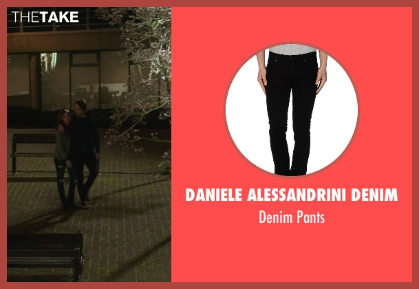 Daniele Alessandrini Denim black pants from If I Stay seen with Jamie Blackley (Adam)