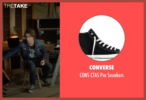 Converse black sneakers from If I Stay seen with Jamie Blackley (Adam)