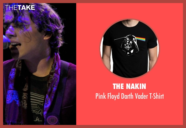 The Nakin black t-shirt from If I Stay seen with Jamie Blackley (Adam)