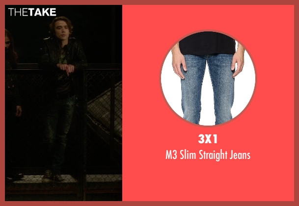 3x1 blue jeans from If I Stay seen with Jamie Blackley (Adam)