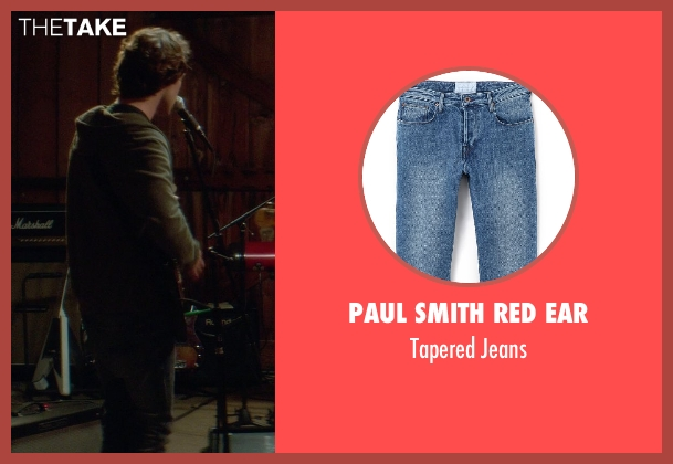 Paul Smith Red Ear blue jeans from If I Stay seen with Jamie Blackley (Adam)