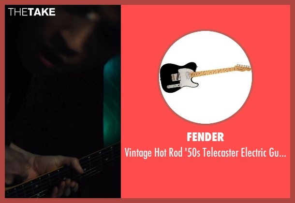 Fender guitar from If I Stay seen with Jamie Blackley (Adam)