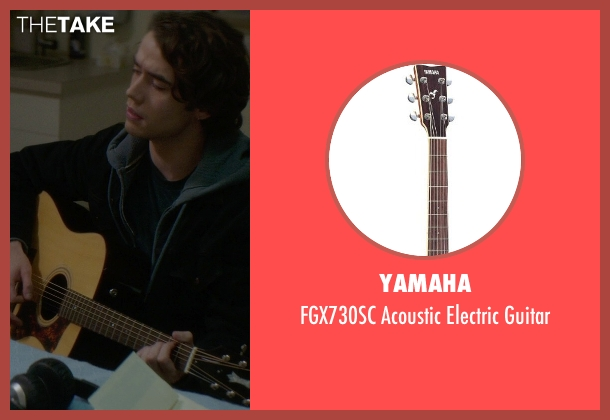 Yamaha guitar from If I Stay seen with Jamie Blackley (Adam)