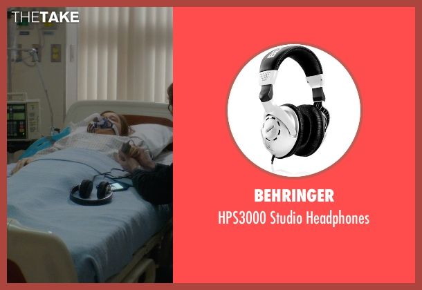 Behringer headphones from If I Stay seen with Jamie Blackley (Adam)