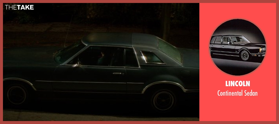 Lincoln sedan from If I Stay seen with Jamie Blackley (Adam)