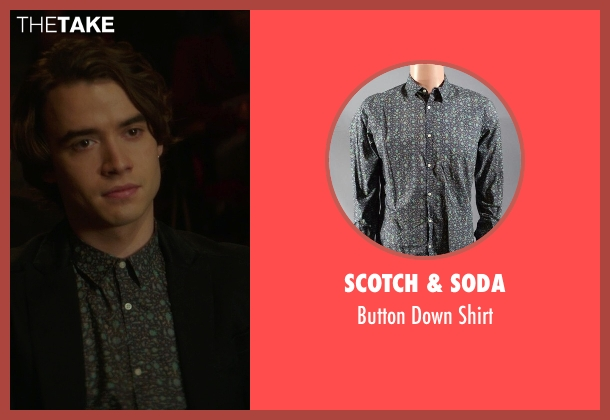 Scotch & Soda shirt from If I Stay seen with Jamie Blackley (Adam)