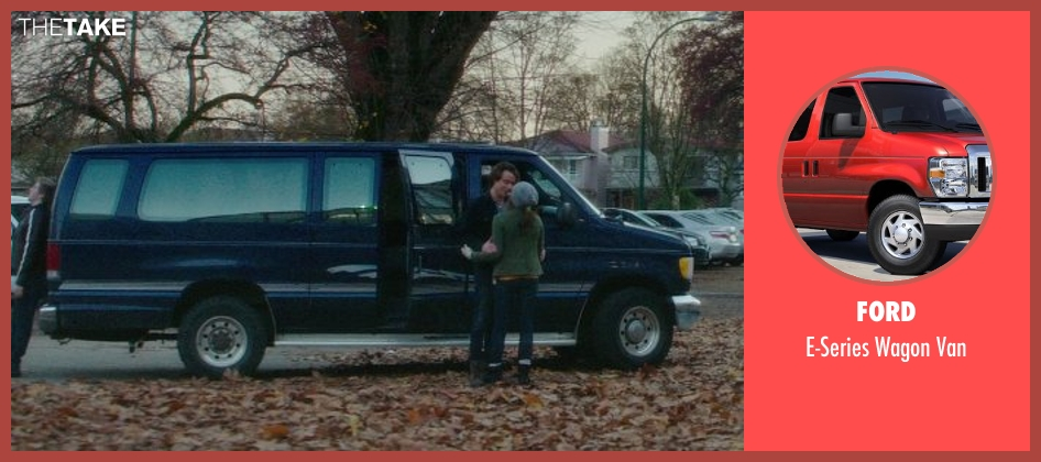 Ford van from If I Stay seen with Jamie Blackley (Adam)