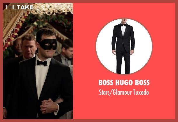 Boss Hugo Boss black tuxedo from Fifty Shades Darker seen with Jamie Dornan (Christian Grey)
