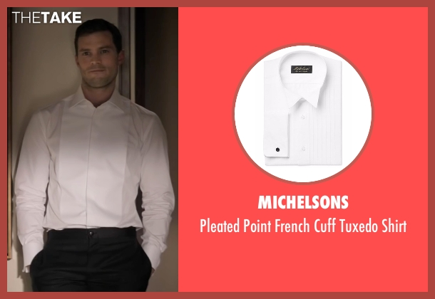 Michelsons white shirt from Fifty Shades Darker seen with Jamie Dornan (Christian Grey)