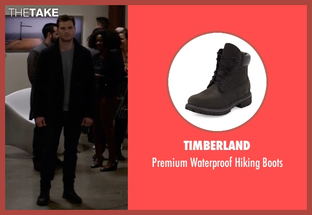 Timberland black boots from Fifty Shades Darker seen with Jamie Dornan (Christian Grey)