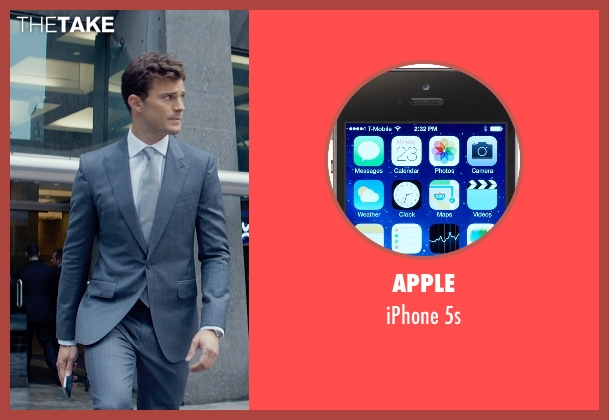 Apple 5s from Fifty Shades of Grey seen with Jamie Dornan (Christian Grey)