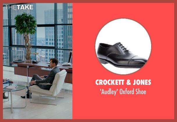 Crockett & Jones black shoe from Fifty Shades of Grey seen with Jamie Dornan (Christian Grey)