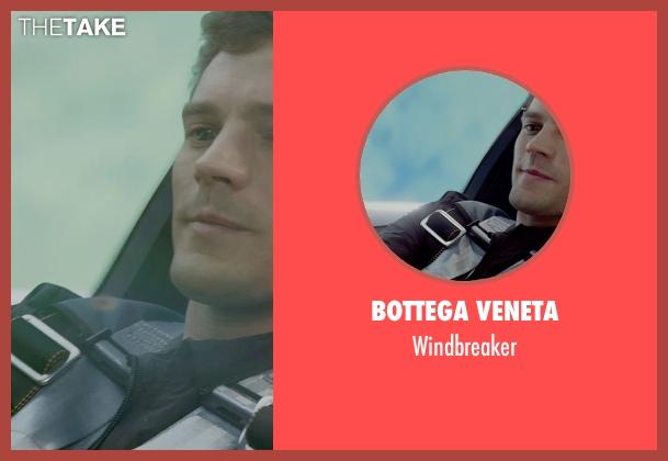 Bottega Veneta black windbreaker from Fifty Shades of Grey seen with Jamie Dornan (Christian Grey)