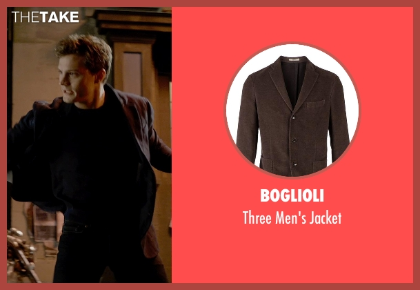 Boglioli brown jacket from Fifty Shades of Grey seen with Jamie Dornan (Christian Grey)