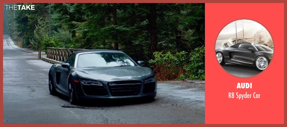 Audi car from Fifty Shades of Grey seen with Jamie Dornan (Christian Grey)