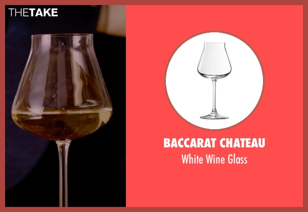 Baccarat Chateau glass from Fifty Shades of Grey seen with Jamie Dornan (Christian Grey)