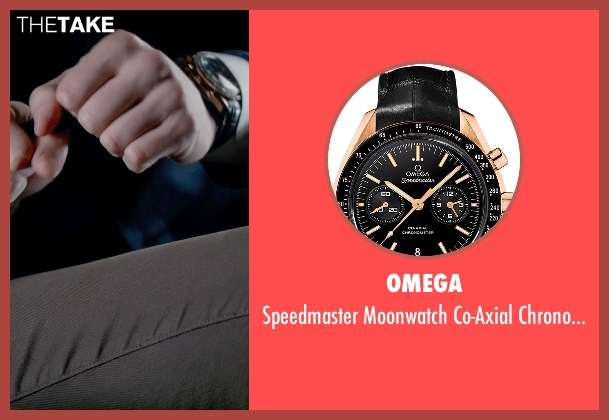 Omega gold chronograph from Fifty Shades of Grey seen with Jamie Dornan (Christian Grey)