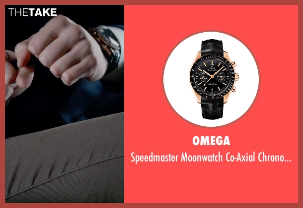 Omega gold watch from Fifty Shades of Grey seen with Jamie Dornan (Christian Grey)