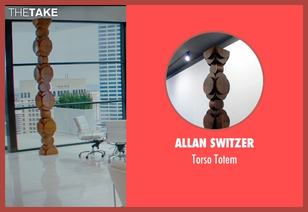Allan Switzer totem from Fifty Shades of Grey seen with Jamie Dornan (Christian Grey)