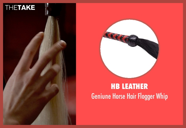 HB Leather whip from Fifty Shades of Grey seen with Jamie Dornan (Christian Grey)