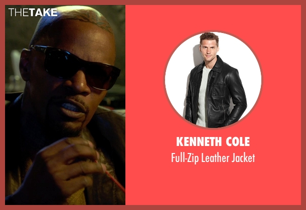 Kenneth Cole black jacket from Horrible Bosses 2 seen with Jamie Foxx (Dean 'MF' Jones)