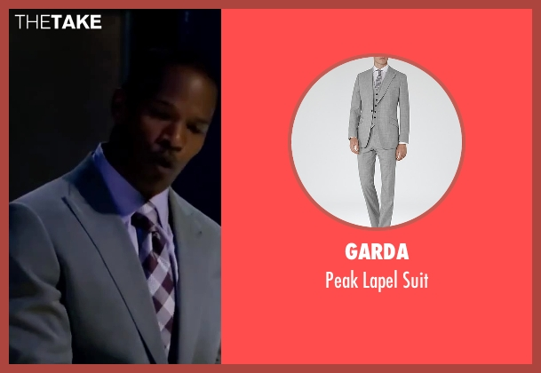 Garda gray suit from Valentine's Day seen with Jamie Foxx (Kelvin Moore)
