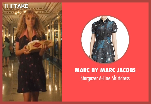 Marc By Marc Jacobs black shirtdress from Vinyl seen with Jamie Vine (Juno Temple)