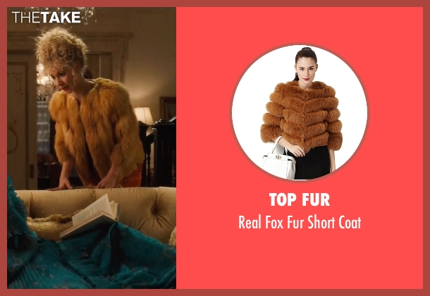 Top Fur coat from Vinyl seen with Jamie Vine (Juno Temple)