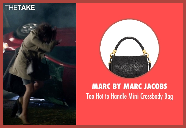 Marc by Marc Jacobs black bag from Poltergeist seen with Jane Adams (Dr. Claire Powell)