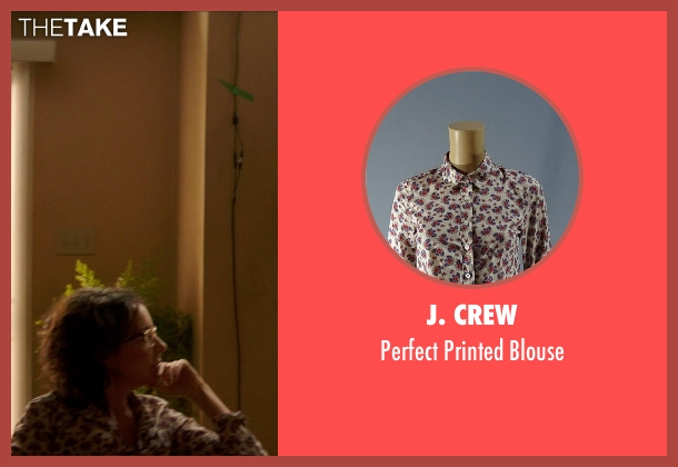 J. Crew white blouse from Poltergeist seen with Jane Adams (Dr. Claire Powell)