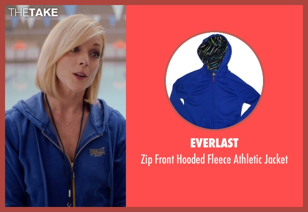 Everlast blue jacket from Adult Beginners seen with Jane Krakowski (Miss Jenn)