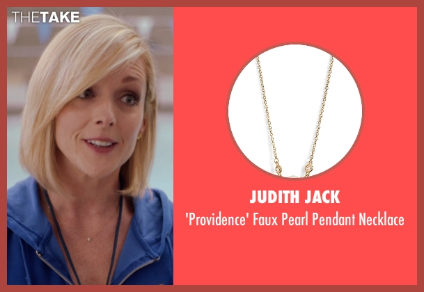 Judith Jack gold necklace from Adult Beginners seen with Jane Krakowski (Miss Jenn)