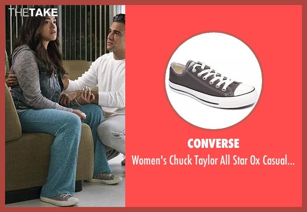 Converse gray sneakers from Jane the Virgin seen with Jane Villanueva (Gina Rodriguez)
