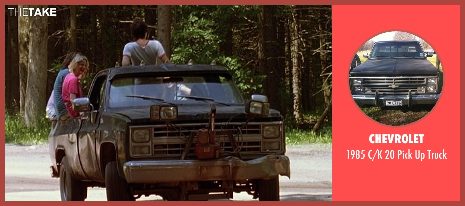 Chevrolet truck from Wet Hot American Summer seen with Unknown Actor (Unknown Character)